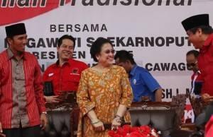 "Terbang Ke Jambi, Megawati ""Dukung Jagoannya"""