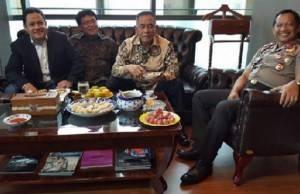 Resmikan Kantor Baru Advokat Ari Yusuf Amir Dihadiri Petinggi Asal Palembang