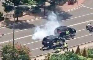 Serangan Bom Serta Adu Tembak, 17 Luka dan 7 Tewas
