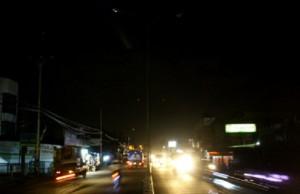 Banyak Lampu PJU DiJalan Raya Bogor Tidak Berpungsi
