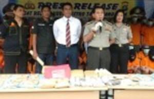 72 Tersangka Pengedar Dan Pengguna Narkoba Digelandang Ke Polres
