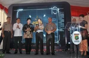 Polres Jakbar Luncurkan Aplikasi Lapor Kejahatan