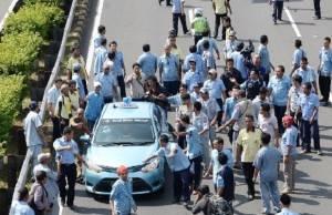 TNI Ambil Sikap Dalam Pengamanan Demo Sopir Taxi