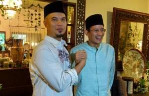 Sandiaga Uno Bakal Duet Dengan Ahmad Dani Dalam Pilgub