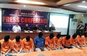 KPU Bea Cukai Soekarno Hatta Ungkap 10 Kasus Narkoba
