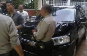 Mobil Anak Mendagri, Di Serempet Anak Menteri Sugiharto
